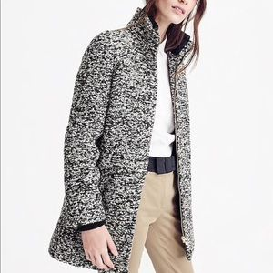 BRAND NEW! ❤️ J.Crew Lodge Coat in Speckled Boucle